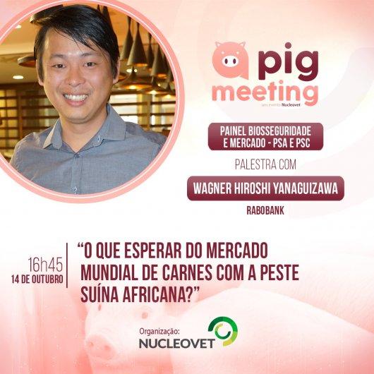 PIG MEETING 2020: O que esperar do mercado mundial de carnes com a Peste Suína Africana?